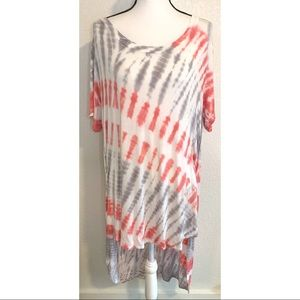 Ava & Viv tie dye maxi dress size 1X
